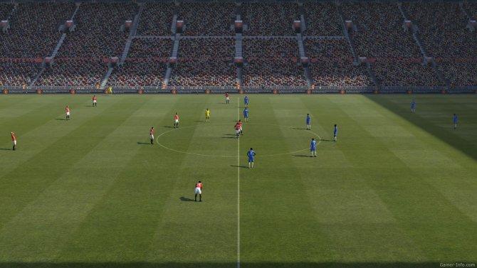 Скриншот игры Pro Evolution Soccer 2011