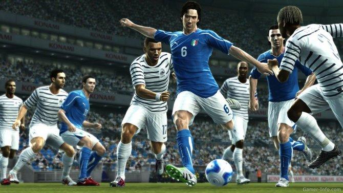 Скриншот игры Pro Evolution Soccer 2012