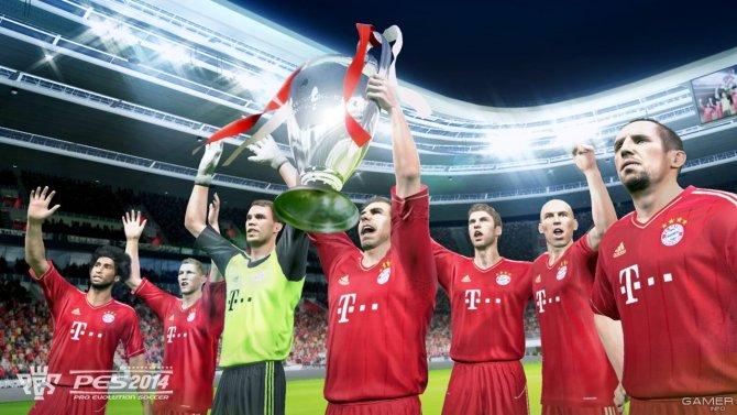 Скриншот игры Pro Evolution Soccer 2014
