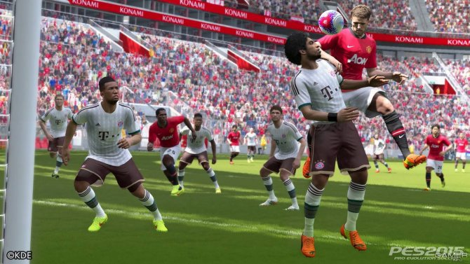Скриншот игры Pro Evolution Soccer 2015