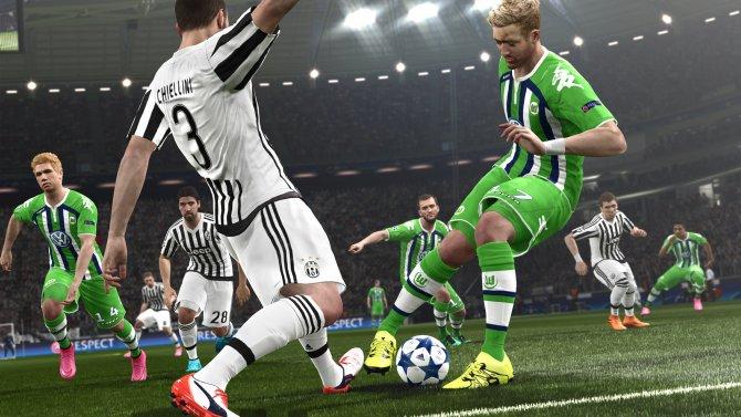 Скриншот игры Pro Evolution Soccer 2016