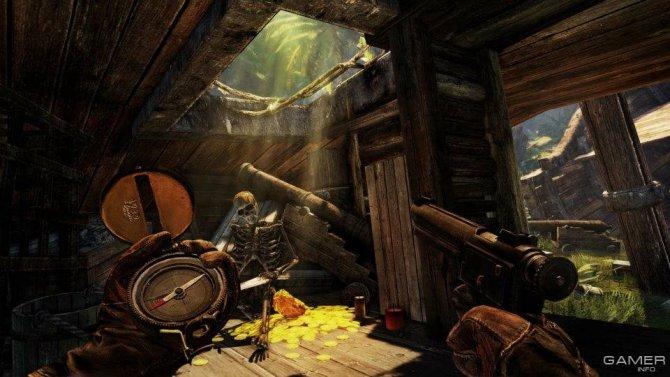 Скриншот игры Deadfall Adventures