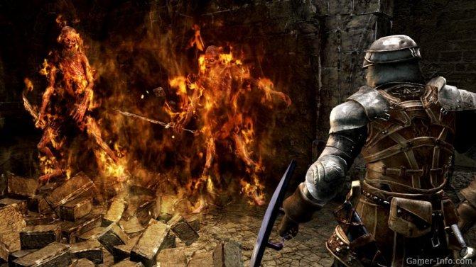 Скриншот игры Dark Souls