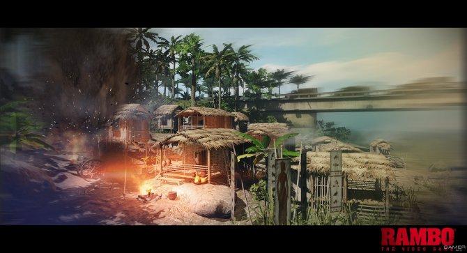 Скриншот игры Rambo: The Video Game