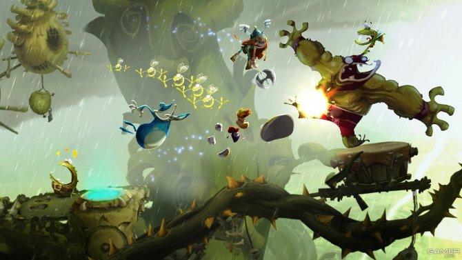 Скриншот игры Rayman: Legends