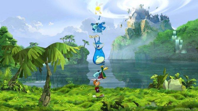 Скриншот игры Rayman Origins
