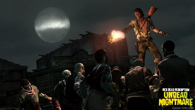 Скриншот игры Red Dead Redemption