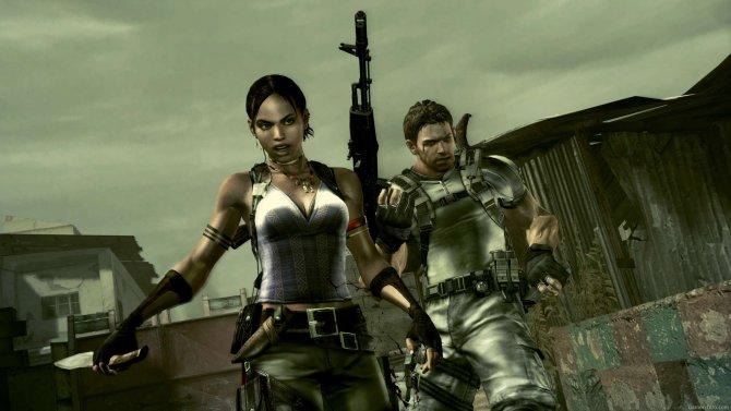 Скриншот игры Resident Evil 5