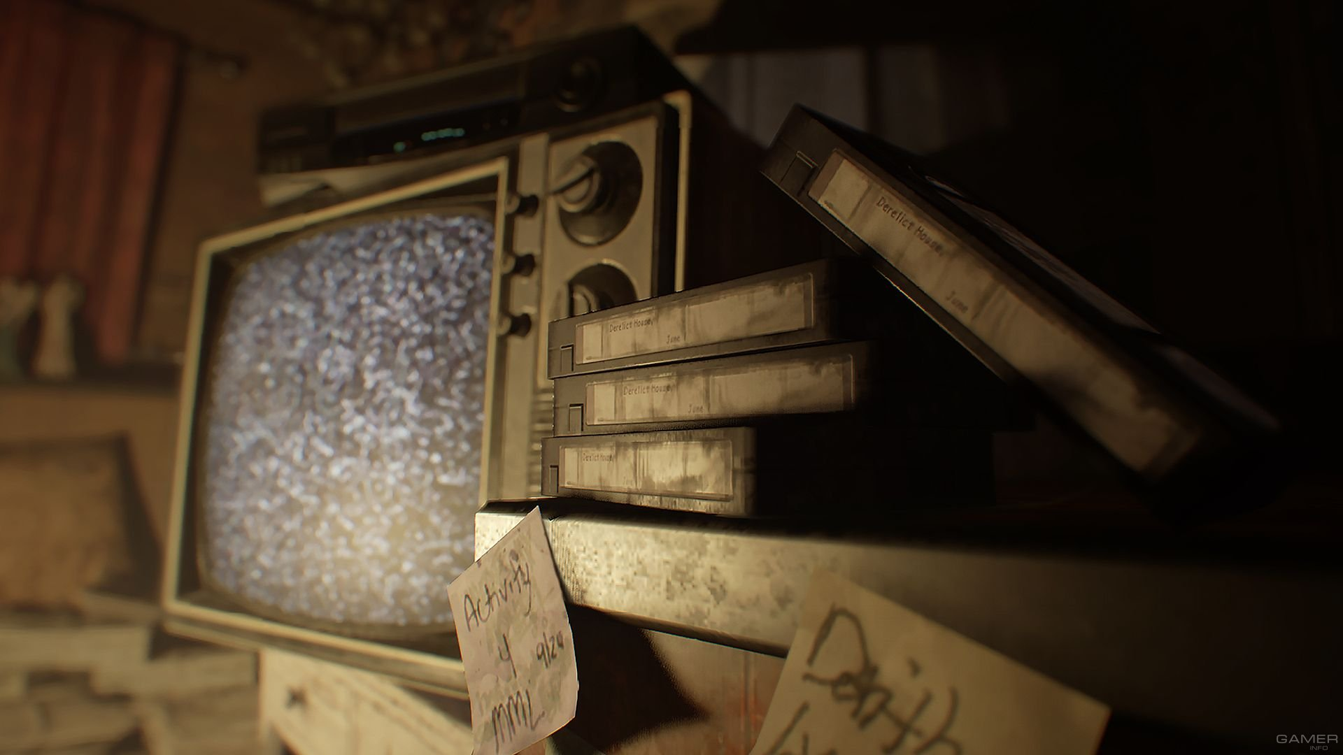 Детали DLC для Resident Evil 7
