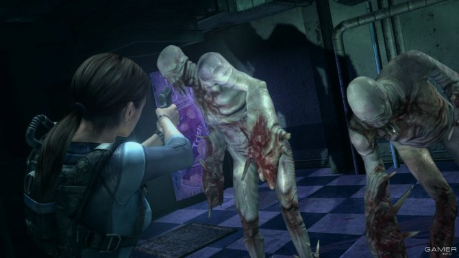 Скриншот игры Resident Evil: Revelations Unveiled Edition