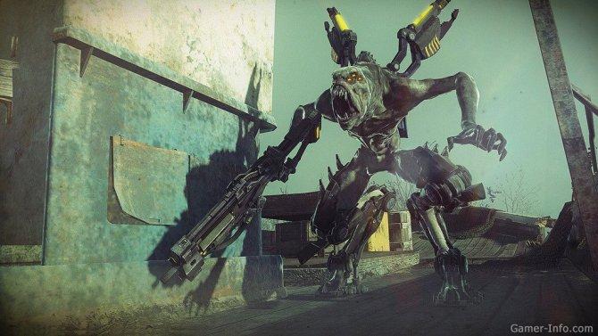 Скриншот игры Resistance 3