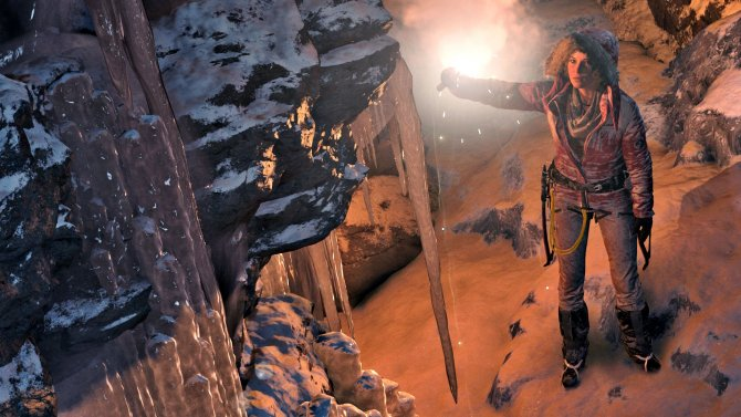 Скриншот игры Rise of the Tomb Raider