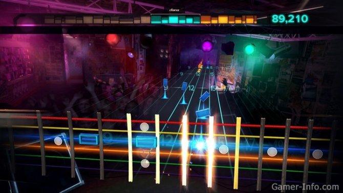 Скриншот игры Rocksmith