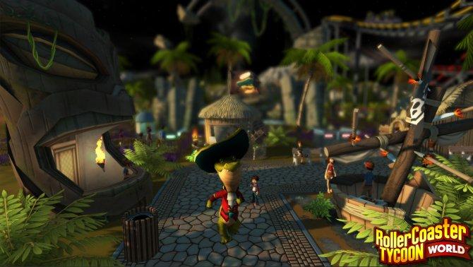 Скриншот игры RollerCoaster Tycoon World