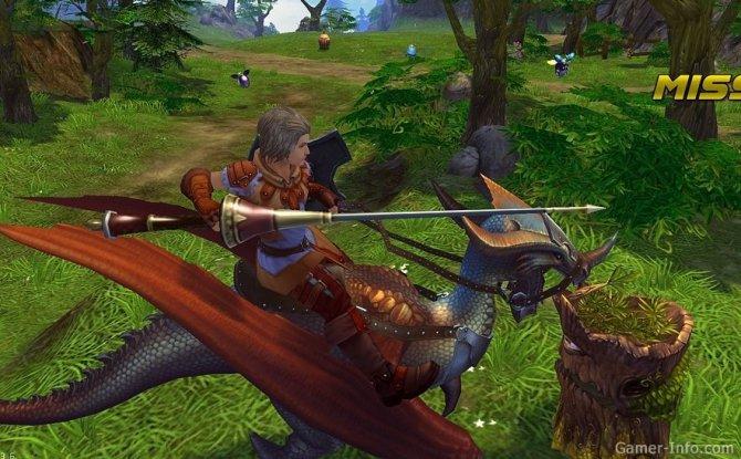 Скриншот игры Royal Quest