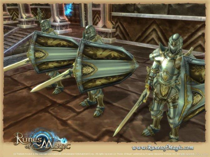Скриншот игры Runes of Magic - Chapter III: The Elder Kingdoms