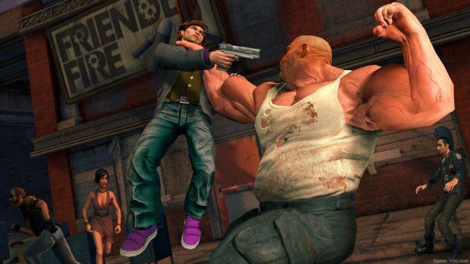 Скриншот игры Saints Row: The Third