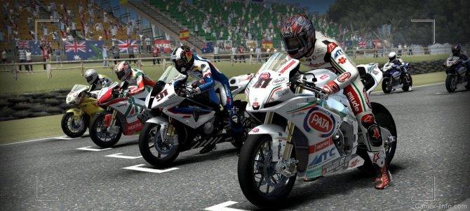Скриншот игры SBK 2011
