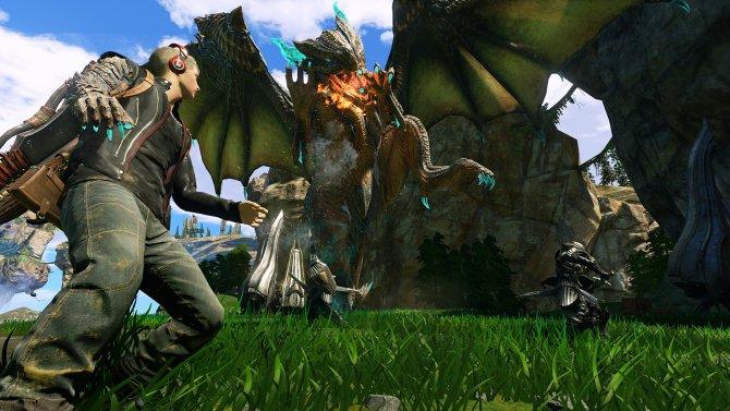 Скриншот игры Scalebound