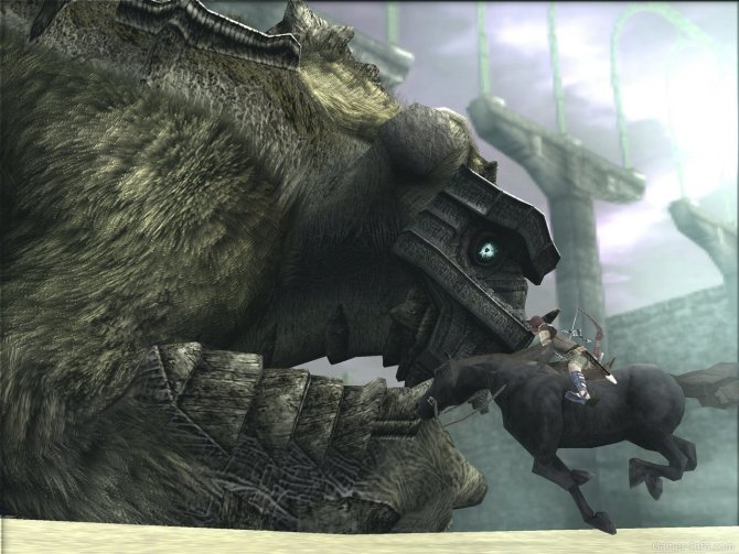 Скриншот игры Shadow of the Colossus