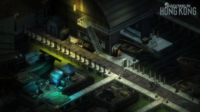 Скриншот игры Shadowrun: Hong Kong