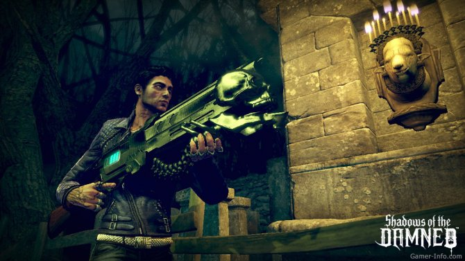 Скриншот игры Shadows of the Damned