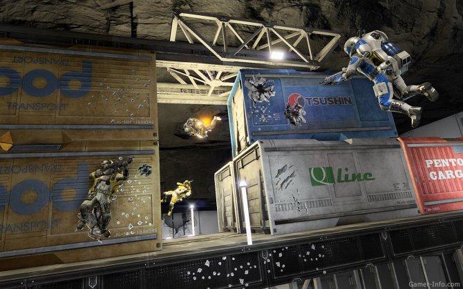 Скриншот игры Shattered Horizon