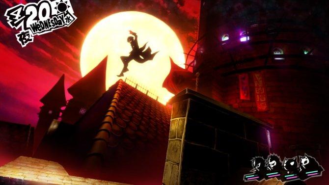 Скриншот игры Persona 5