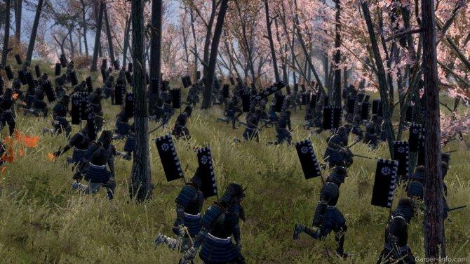 Скриншот игры Total War: Shogun 2