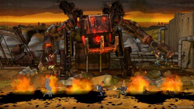 Скриншот игры Shoot Many Robots