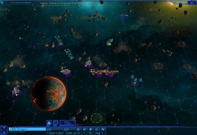 Скриншот игры Sid Meier's Starships