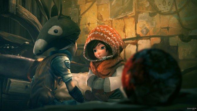 Скриншот игры Silence