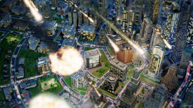 Скриншот игры SimCity