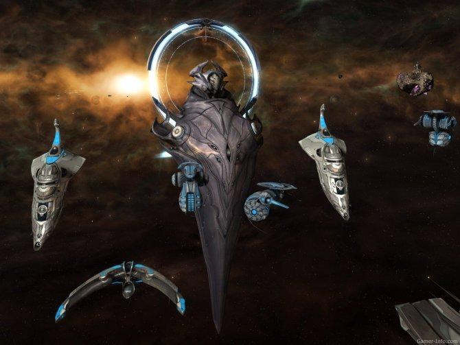 Скриншот игры Sins of a Solar Empire: Rebellion