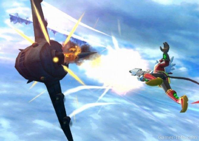 Скриншот игры Rodea: The Sky Soldier