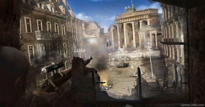 Скриншот игры Sniper Elite V2