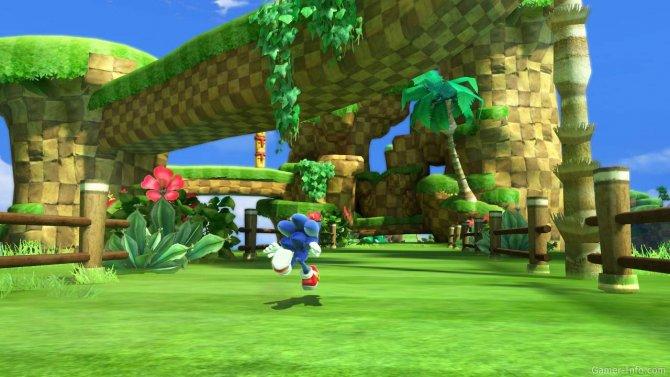 Скриншот игры Sonic Generations