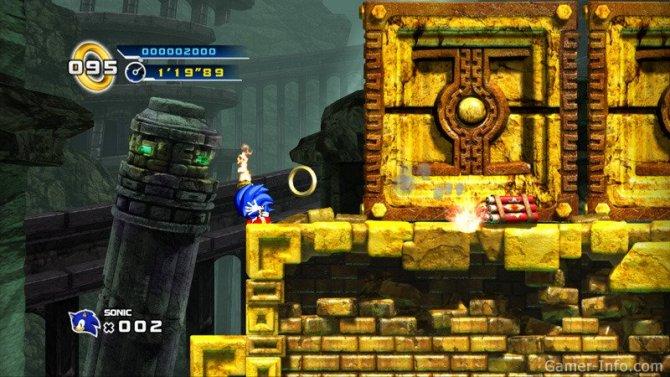 Скриншот игры Sonic the Hedgehog 4: Episode I
