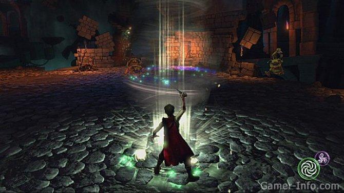 Скриншот игры Sorcery