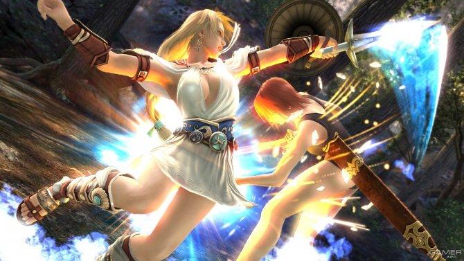 Скриншот игры Soul Calibur: Lost Swords
