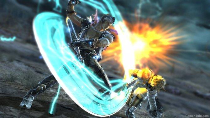 Скриншот игры Soul Calibur V