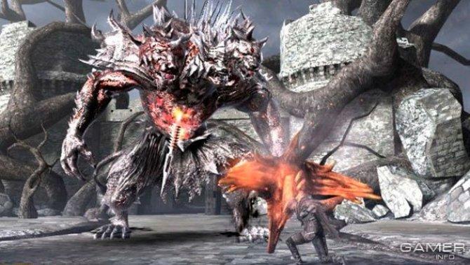 Скриншот игры Soul Sacrifice