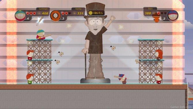 Скриншот игры South Park: Tenorman's Revenge