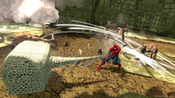 Скриншот игры Spider-Man: Shattered Dimensions