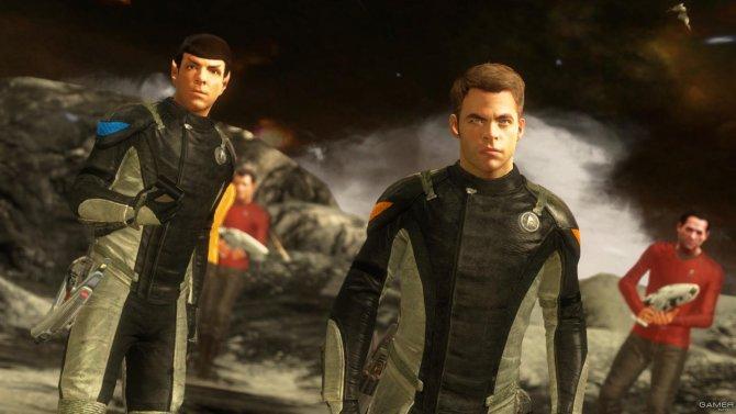 Скриншот игры Star Trek: The Game