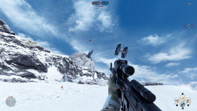 Скриншот игры Star Wars Battlefront