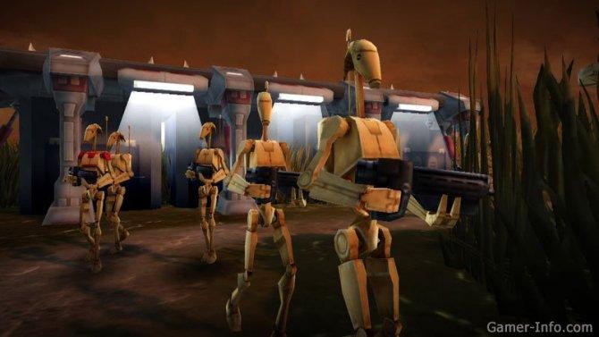 Скриншот игры Star Wars: Clone Wars Adventures