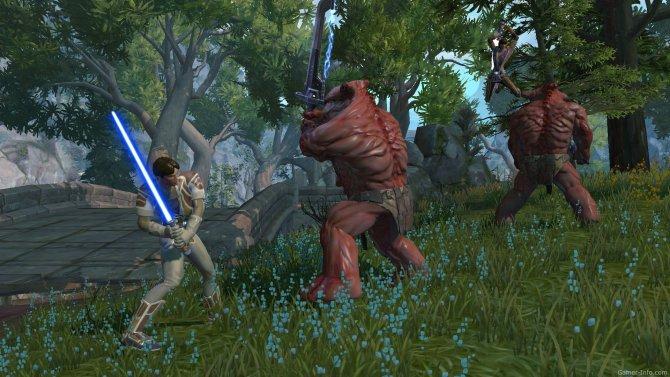 Скриншот игры Star Wars: The Old Republic