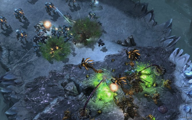 Скриншот игры StarCraft 2: Heart of the Swarm
