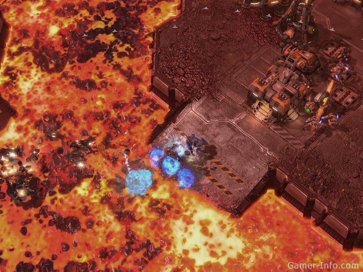Скриншоты StarCraft 2: Wings of Liberty